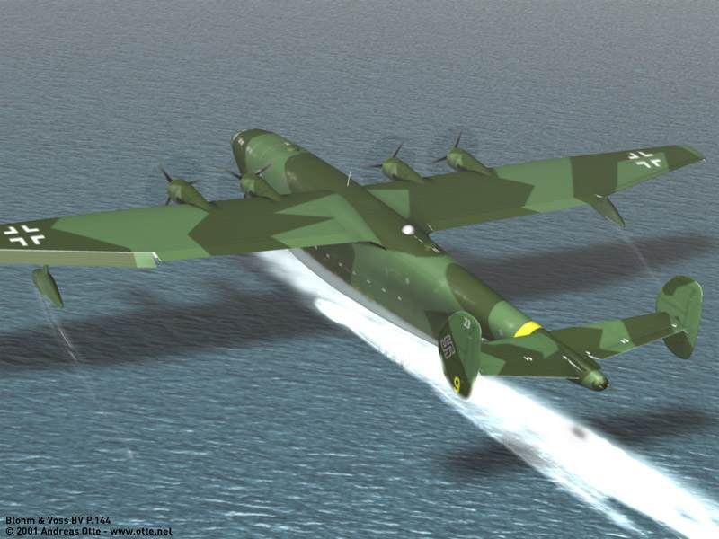 ... 144 b ack to the luftart main page blohm voss bv p 144 flying boat