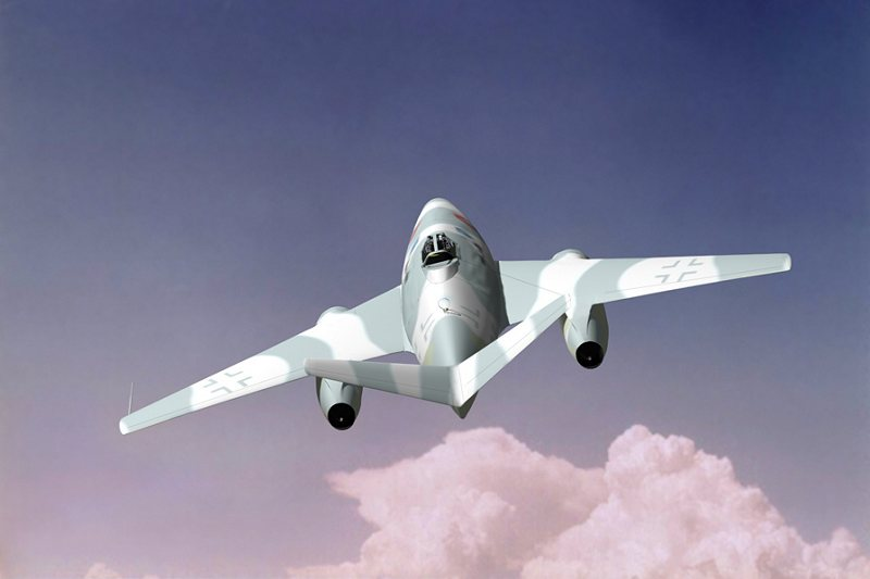 "Daniele Sabatini's Messerschmitt Me 262 HG ""Early Variant"" Luft Art Images"
