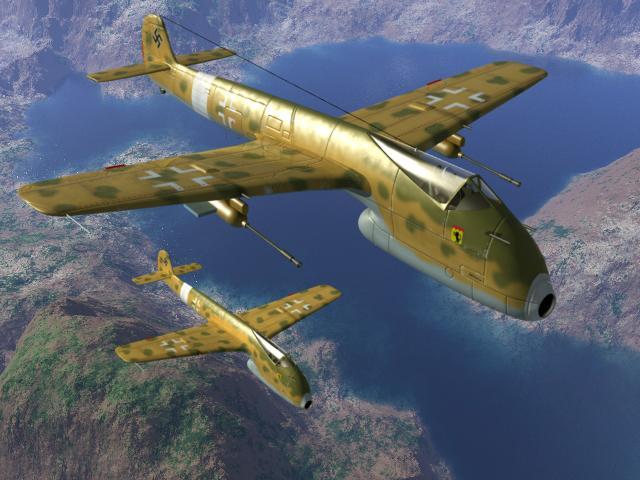 第三帝国的新概念飞机 电脑想象图集 (陆续更新)