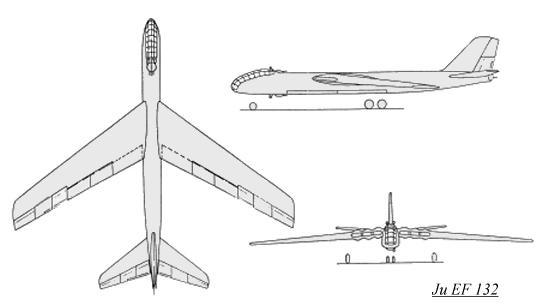Junkers Ju EF 132 Luft '46 entry