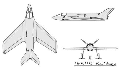 Messerchmitt Me P.1112 Luft '4...