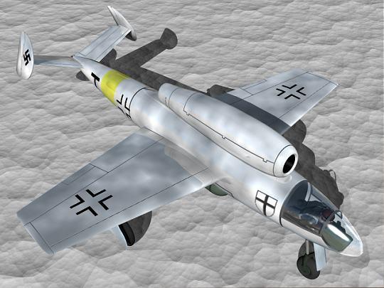 The Henschel Hs 132 Henschel Hs 132