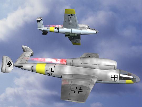 Mario Merino's Henschel Hs 132 Luft Art Henschel Hs 132