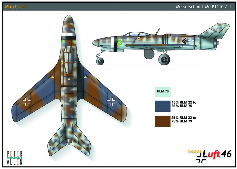 德国二战概念飞机,草图 cg