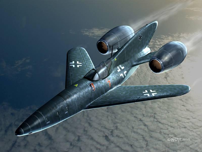 secret nazi aircraft